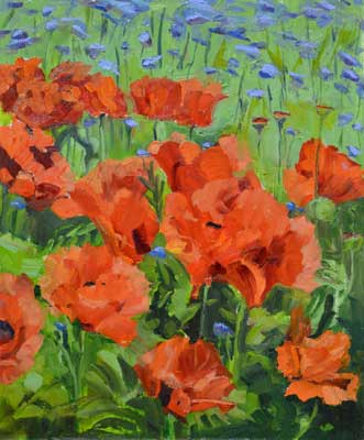 Poppies & Cornflowers