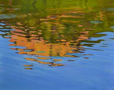Lily Lake Reflections III